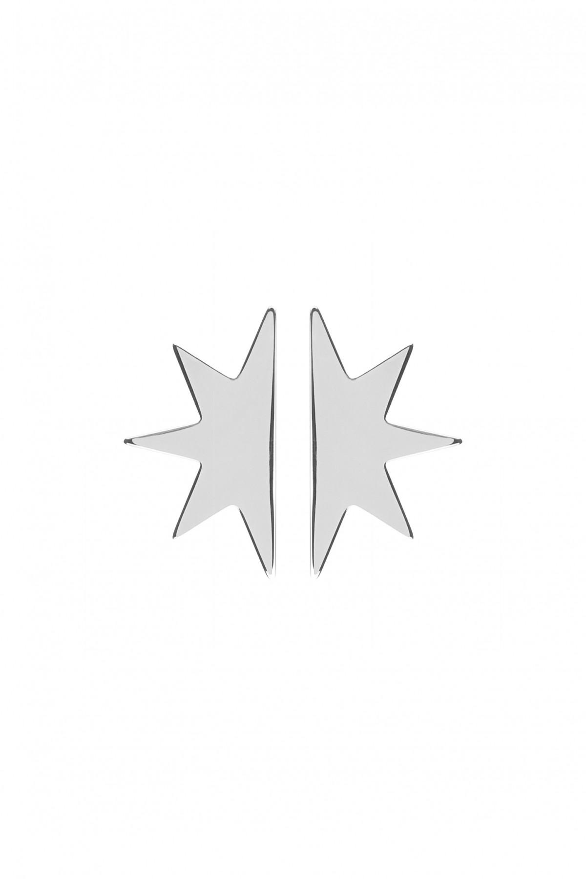 Brincos Half Star