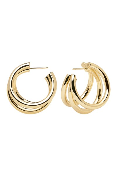 TRUE GOLD EARRINGS - P D PAOLA