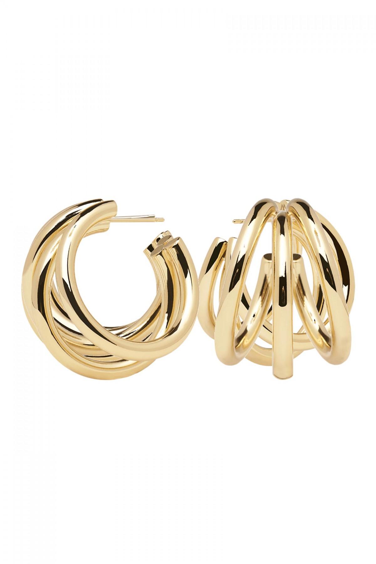 TRUE GOLD EARRINGS - P D PAOLA