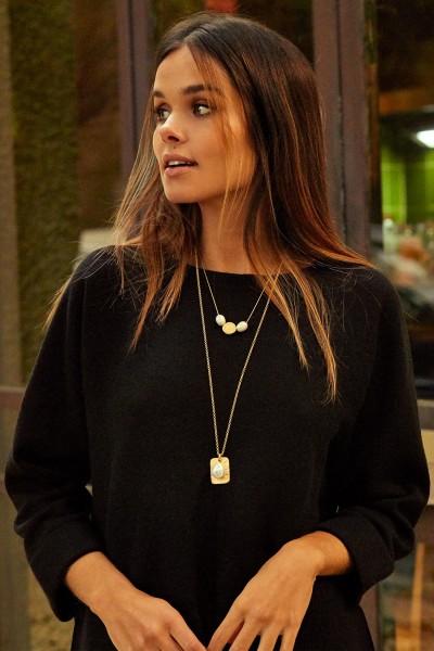 XL Rectangle Necklace