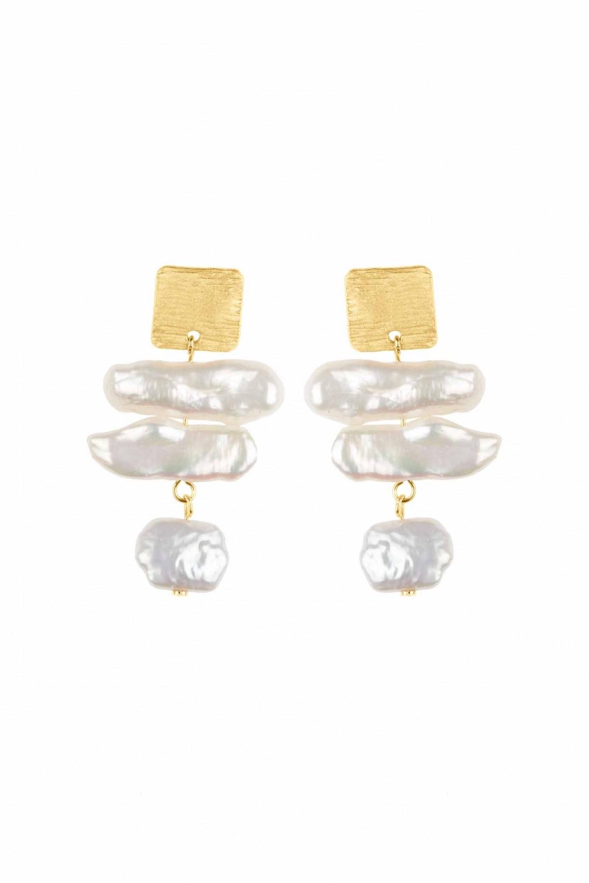 Brincos Matisse Pearls