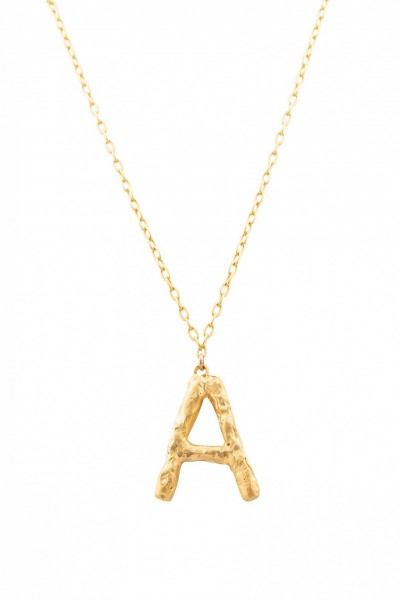 Letter XL Necklace