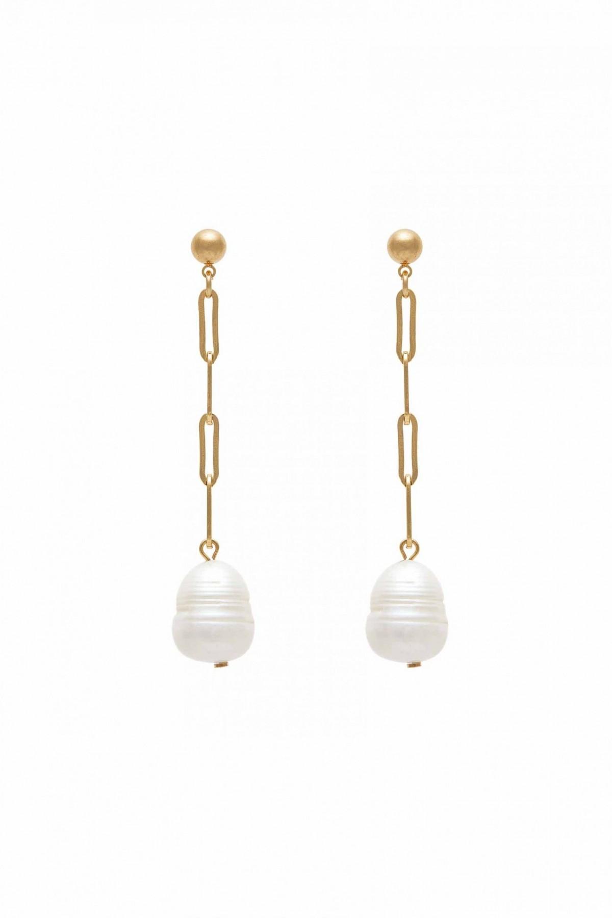 Kendall Pearls Earrings
