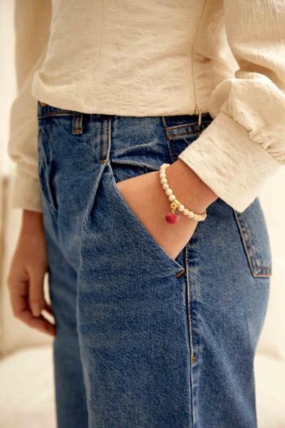Silk & Stone Bracelet