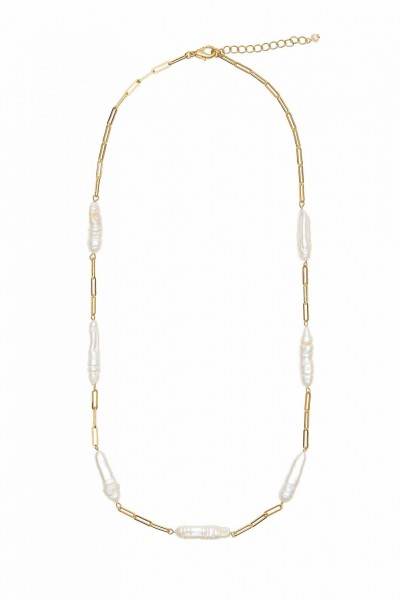 Jackie Pearls Necklace