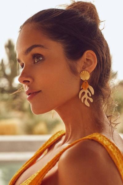 La Digue Earrings