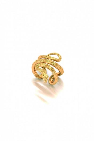 Cleo Snake Ring