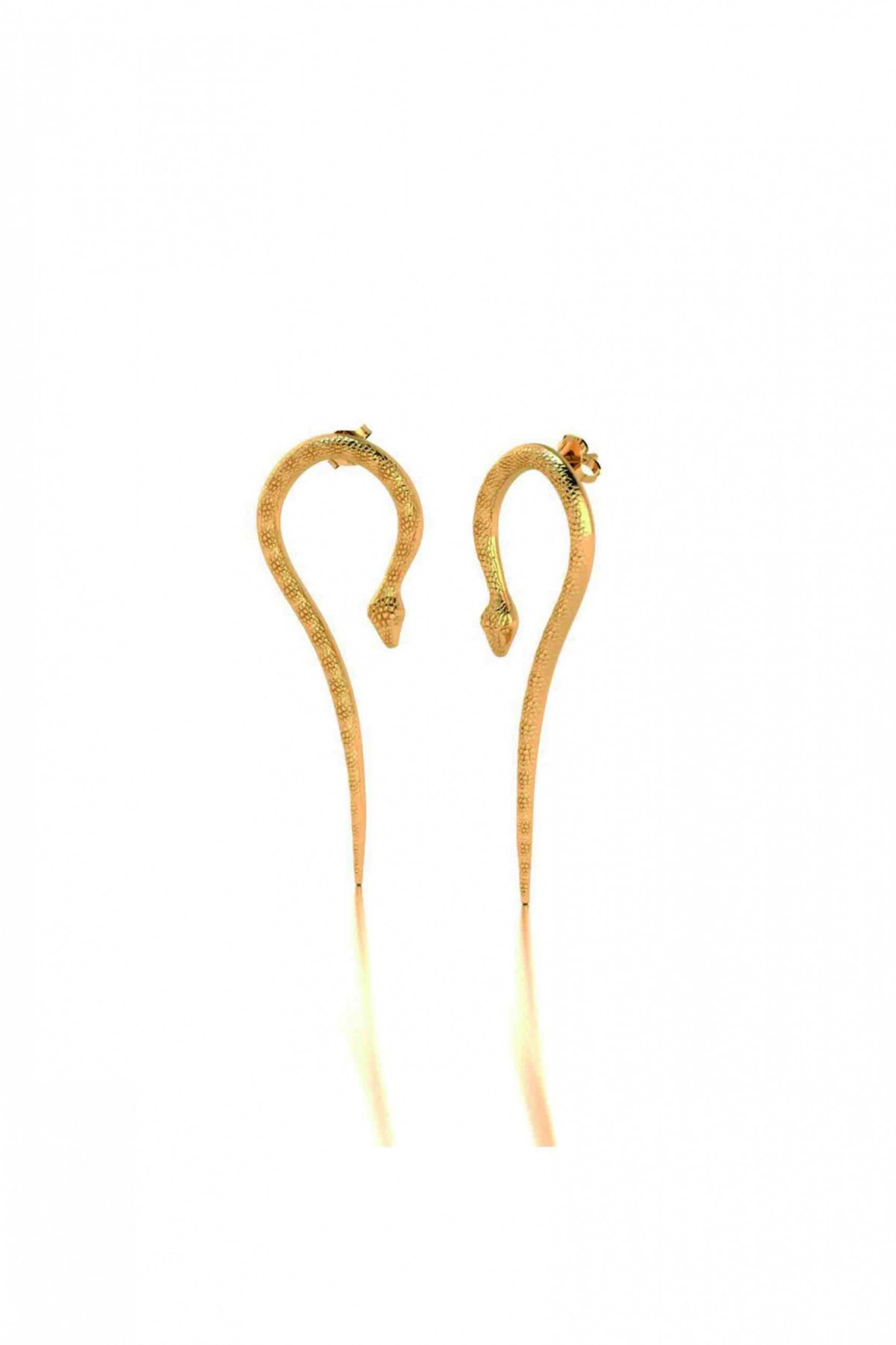 Cleo Snake Earrings