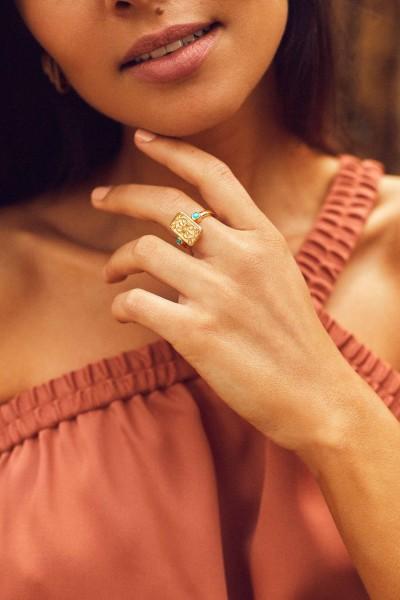 Together Gold Vermeil Ring