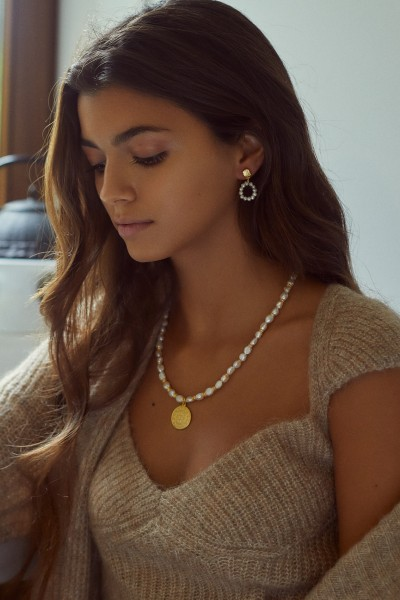 Colar Sunshine Pearls