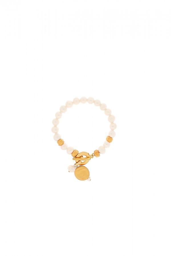 Folky Pearls Bracelet