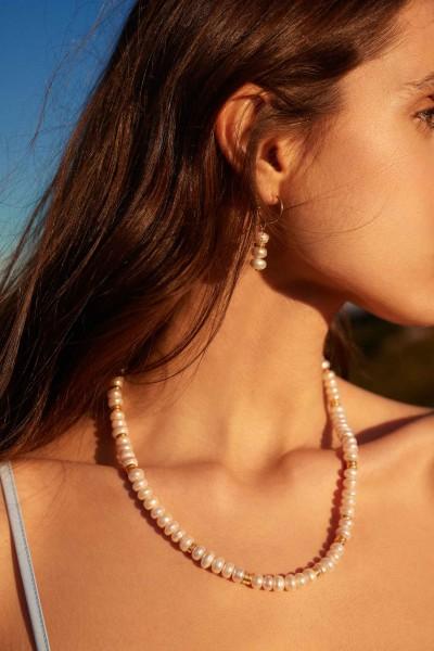 Brincos Aline Pearls