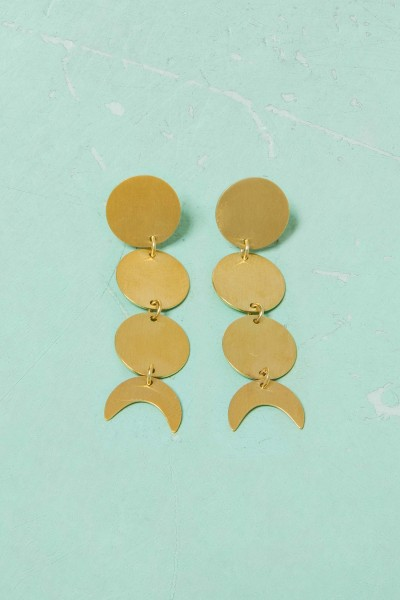 By the Moon Earrings