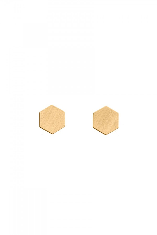 Brincos Hexagon