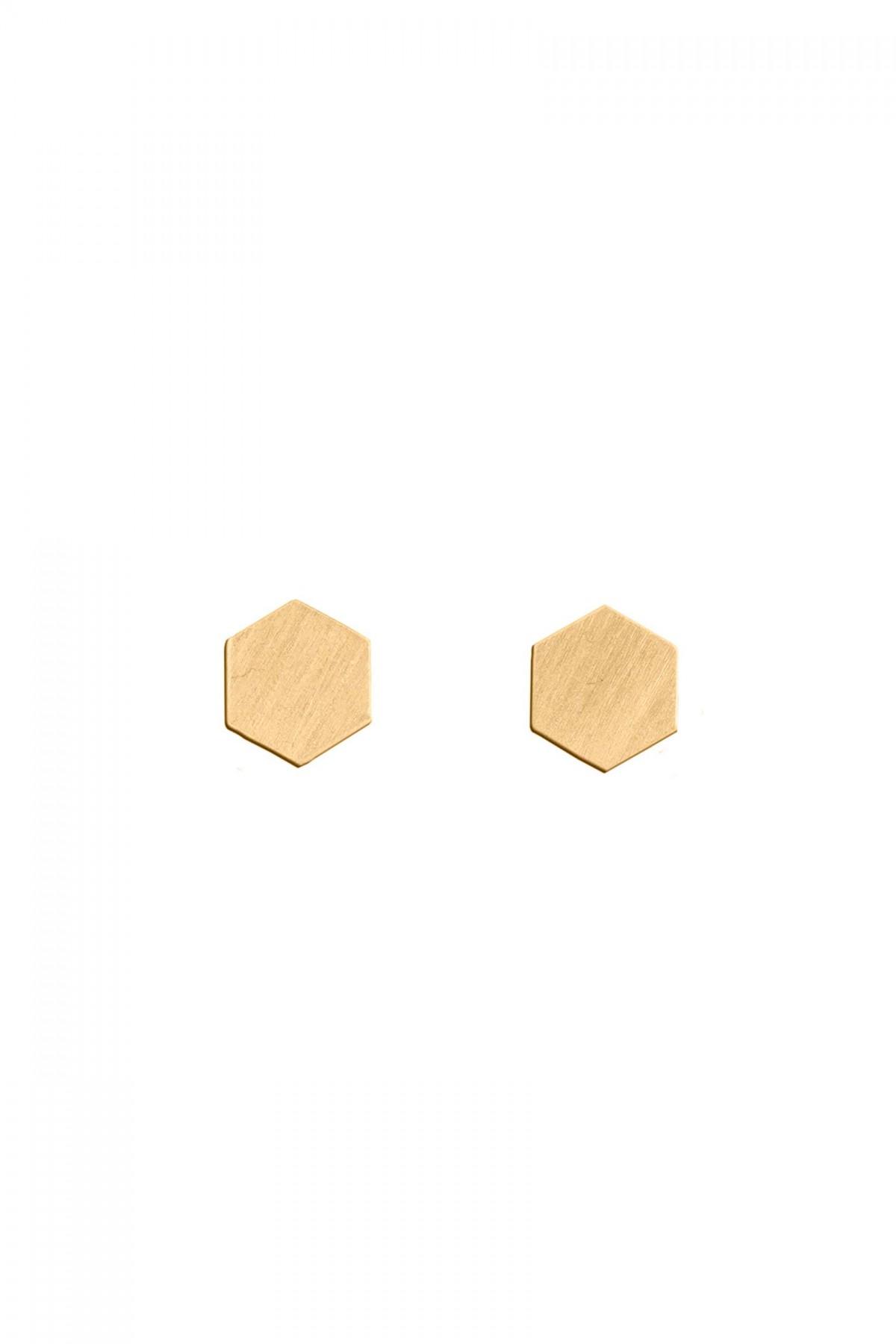 Brincos Hexagon