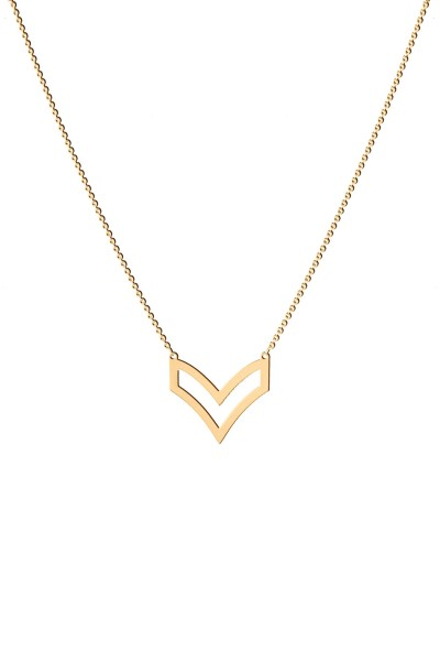 Military M Necklace