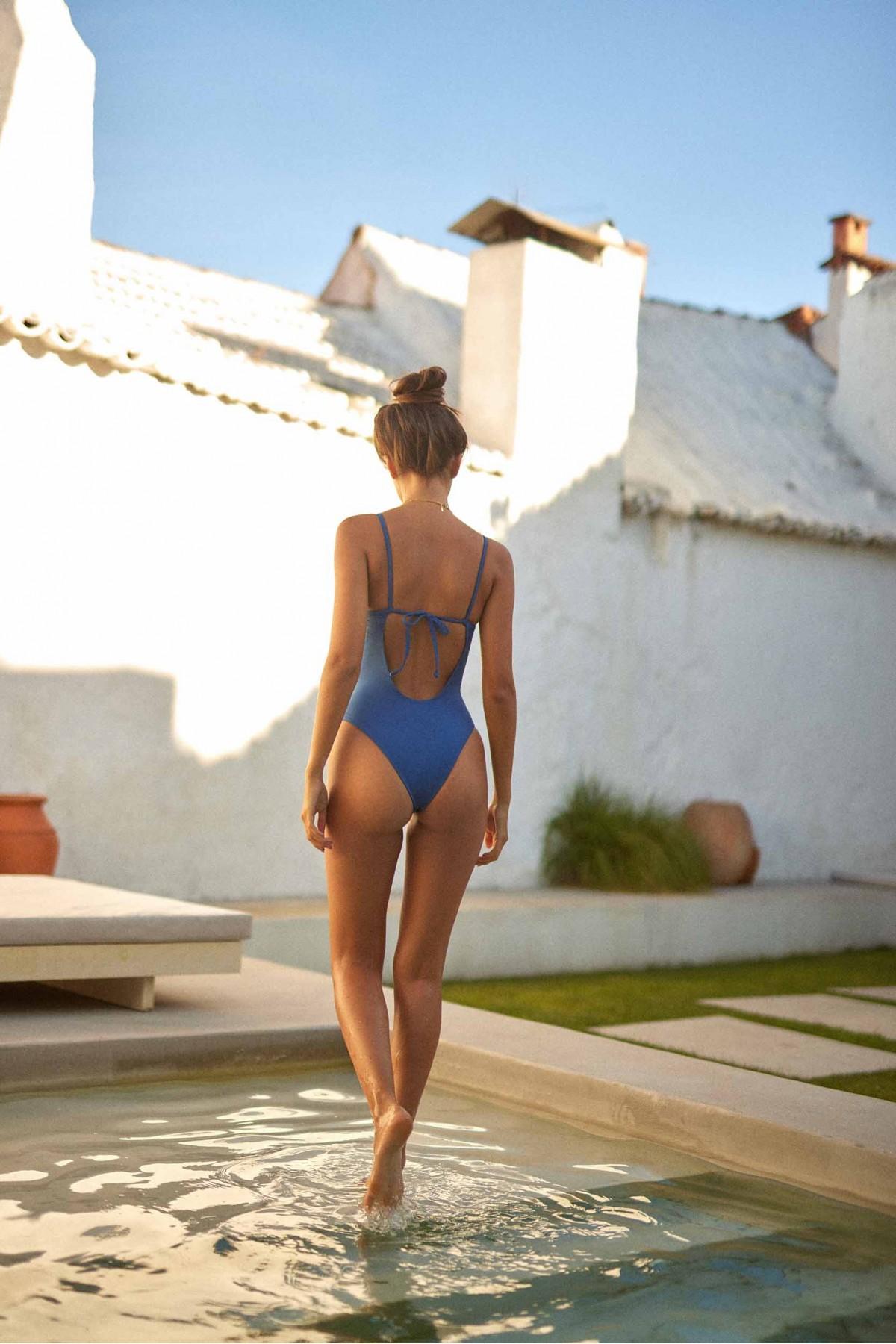 Blue Indigo Swimsuit