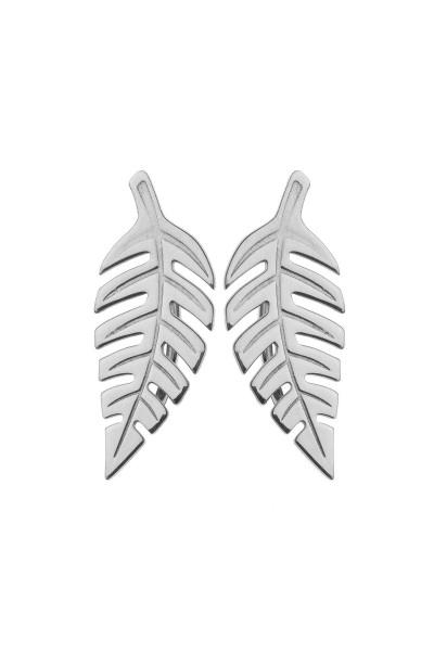 Bold Leaf Earrings