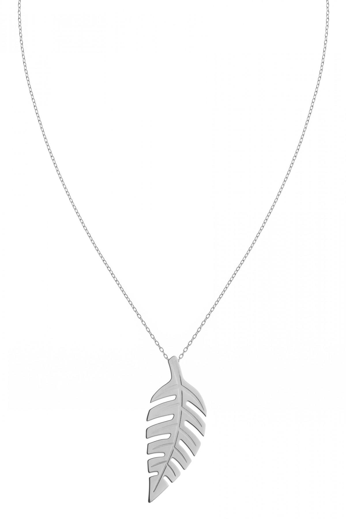 Bold Leaf XL Necklace
