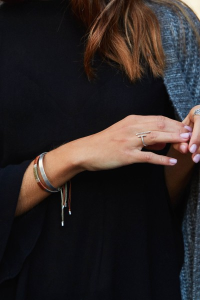 Silver Olive Bracelet