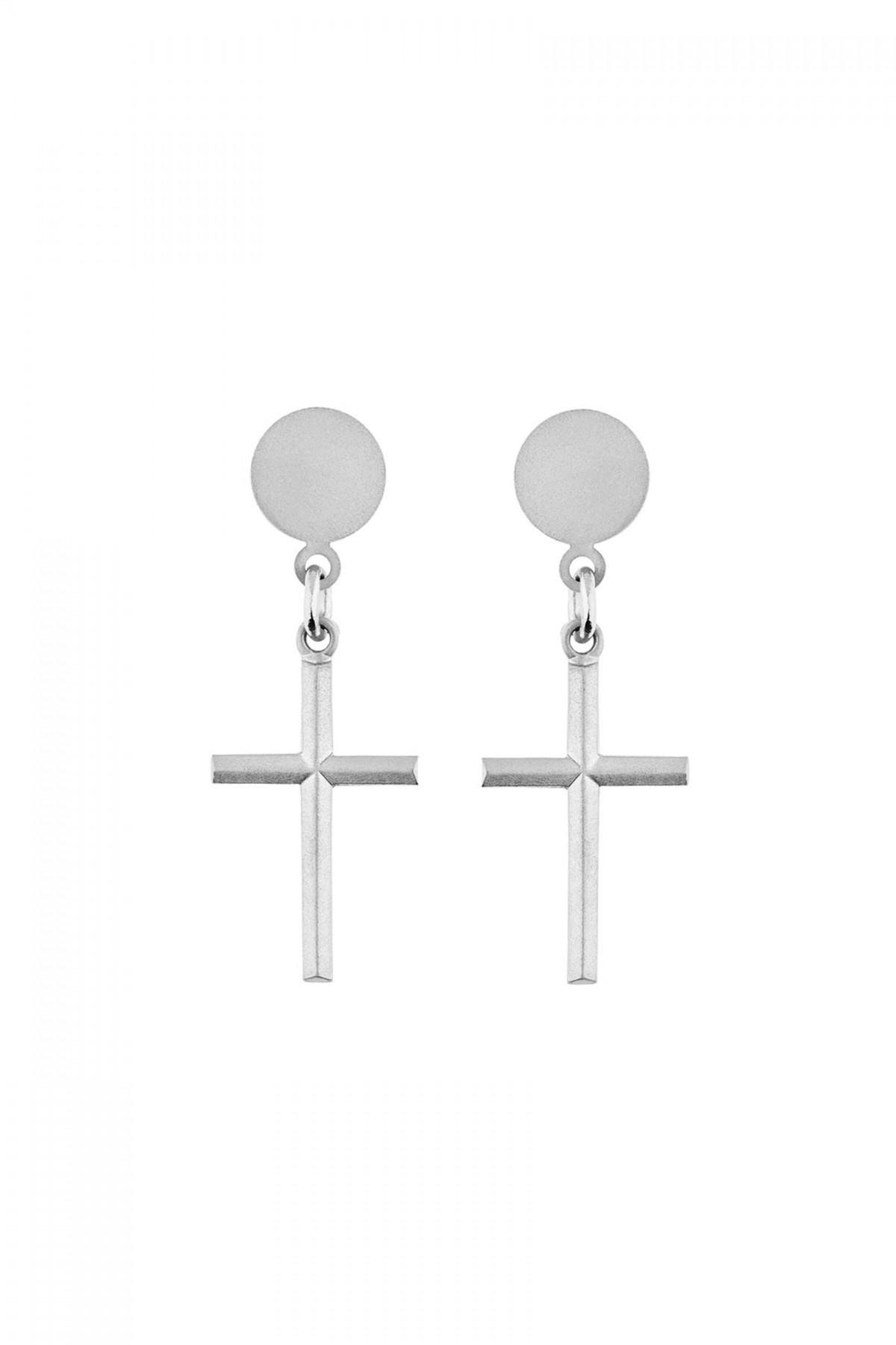 The Cross Earrings