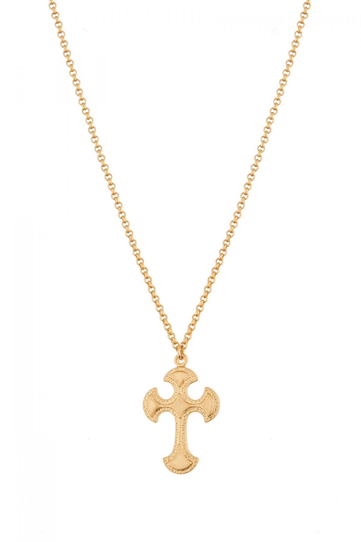 Bizantine Cross Necklace