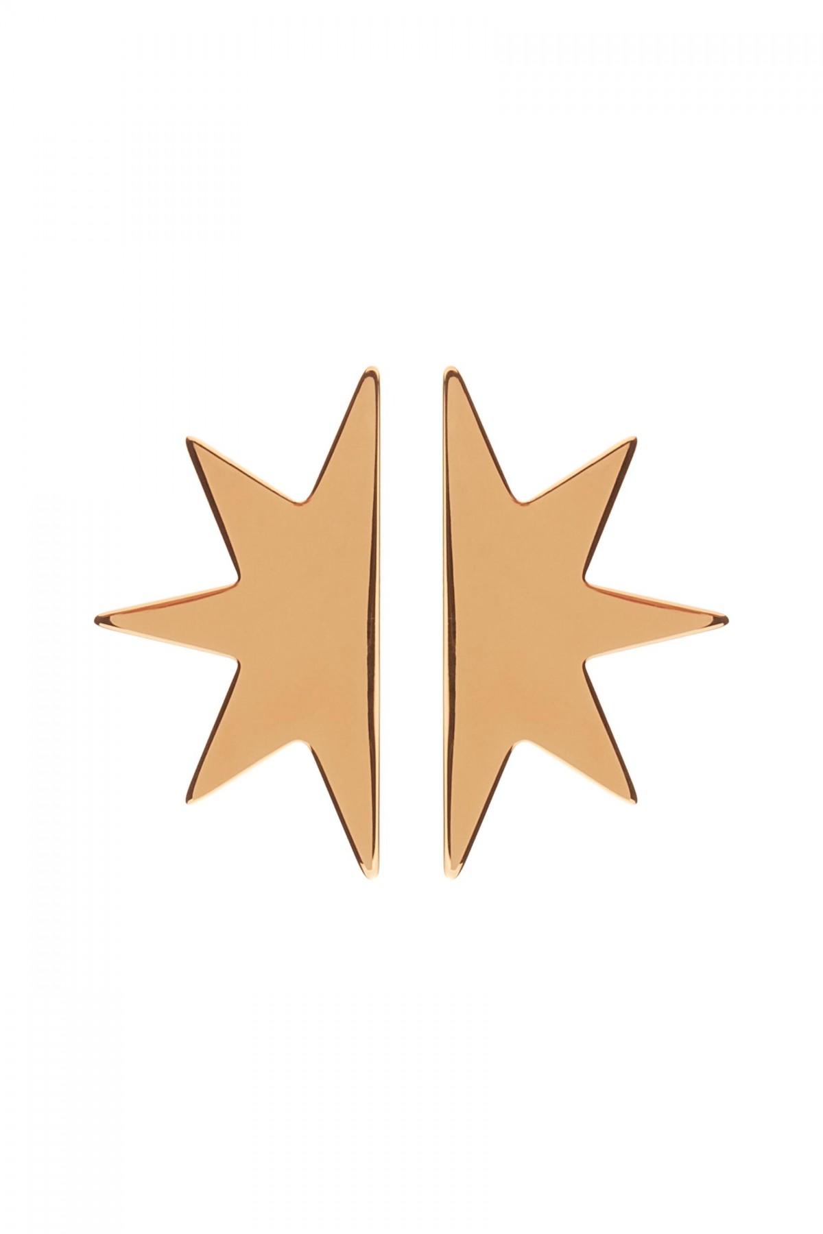 Brincos XL Half Star